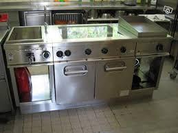 materiel cuisine occasion professionnel piano grille de cuisine inox occasion