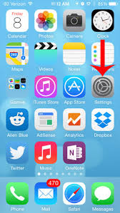 What is the Icon With the Phone and Dots at the Top of My iPhone 5