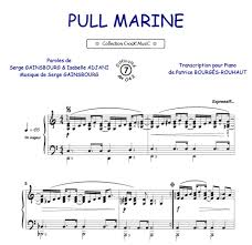 partitions pull marine piano voix