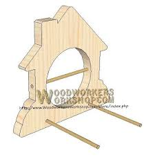 Wood Project Plans Pdf by 05 Wp 021 Bird Feeder Plaque Downloadable Scrollsaw Woodworking