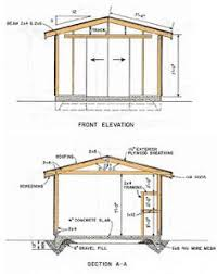 Everton 8 X 12 Wood Shed by Build Your Own Garden Shed From Pm Plans Popular Mechanics