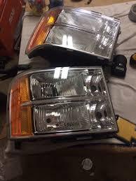100 Chevy Truck Headlights Nnbs Sierra Headlights Car Forum GMC Forum
