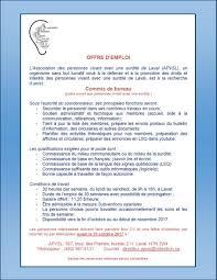 bureau d emploi offre d emploi commis de bureau apvsl sourdef