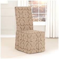 Ikea Chair Covers Dining Room by Sure Fit Cotton Duck Dining Room Chair Slipcover With Arms
