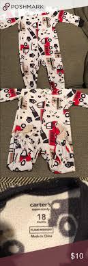 Firetruck Warm Pajamas