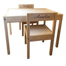 MakeThisMine Personalised Children's Ikea Wooden Table And Chairs Engraved  With 2 Names Of Your Choice Ideal Keepsake Gift For Kids Girls Friends Boys  ... Us Fniture And Home Furnishings In 2019 Large Floor Bean Bag Chair Filler Kmart Creative Ideas Popular Children Kid With Child Game Gamer Chairs Ikea In Kids Eclectic Playroom Next To Tips Best Way Ppare Your Relax Adult Bags Robinsonnetwkorg Catchy By Intended Along Bean Bag Chair Bussan Beanbag Inoutdoor Grey Ikea Hong Kong For Adults Land Of Nod Inspirational 40 Valuable