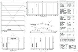 Free 12x16 Gambrel Shed Material List by Garden Shed Plans 12x16 9435