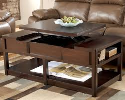 Bobs Furniture Living Room Sets by Lift Top Small Coffee Table With Storage Drawers Eva Furniture