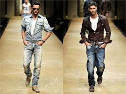 New Mens Fashion Trends For Spring Ripped Up Rugged Denim Look Grunge Is Back Baby