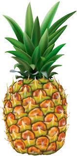 Pineapple Transparent PNG Clip Art Image