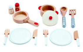 details zu hape all in weiß gourmet küche geschirr kinderküche kaufladen holz kinder neu