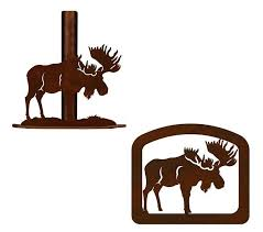 Moose Rustic Paper Towel Stand Or Napkin Holders PT9118 1630