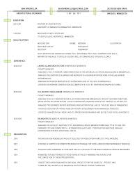 Architectural Project Manager Resume Sample Landscape Architect Landscaping Example