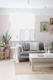 pink livingroom grey ikea karlstad sofa stocksund legs by jo