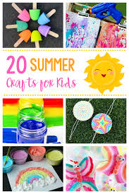 20 Fun Simple Crafts For Kids Great Ideas To Keep The Busy This