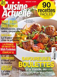 Cuisine Huit Idées De Recettes Achat Cuisine Actuelle N 326 8 Janv 2018 Version Numérique Et