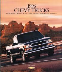 1996 CHEVY TRUCK Brochure /Catalog:C/K PickUp,TAHOE,VAN,1500,S10 ... Fuse Panel I Have Lost My Diagram For The Back 2001 Chevy 1500 Wiring Trusted Diagrams Tail Light 1996 Truck Solutions Chevrolet Suburban Schematics Silverado 22 Inch Rims Truckin Magazine Review Amazing Pictures And Images Look Valuable Repair Guides Parts Best Of Tfrithstang Ck User Reviews Cargurus Z71 C1500 Extended Cab Sportside 4x2p10784a