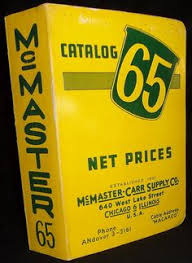 McMaster Carr Catalog 54 1947 Ebay Auction 380706738650 9 3 13 550 Tool Machinery Mill Supply Chicago