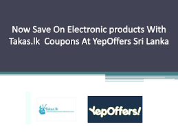 PPT - Now Save On Electronic Products With Takas.lk Coupons ... Shoemall Online Monogram Last Name Coupon 2018 Lax World Naturaliser Shoes Singapore Yankee Candle Williamsburg Coupons Blue Moon Beer Code Bed Bath And Beyond 10 Off 30 In Store Zoomin Omega Flight Promo Legoland Florida Shoebacca Codes Matches Fashion Ldon Formula 1 Discount Vouchers Doordash Canada Pizza Luce Richfield Threadless August