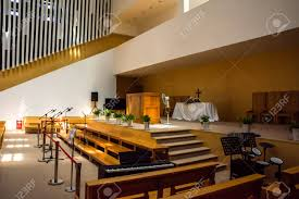 100 Modern Church Interior Design View Of A Modern Church With Empty Pews