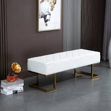 homcom sitzbank für schlafzimmer truhenbank bettbank