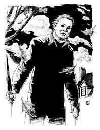 Michael Myers Pumpkin Stencil by Halloween U0027s Michael Myers By Deankotz On Deviantart