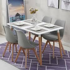essgruppe mit 4 esszimmerstühle für esszimmer küche weiß