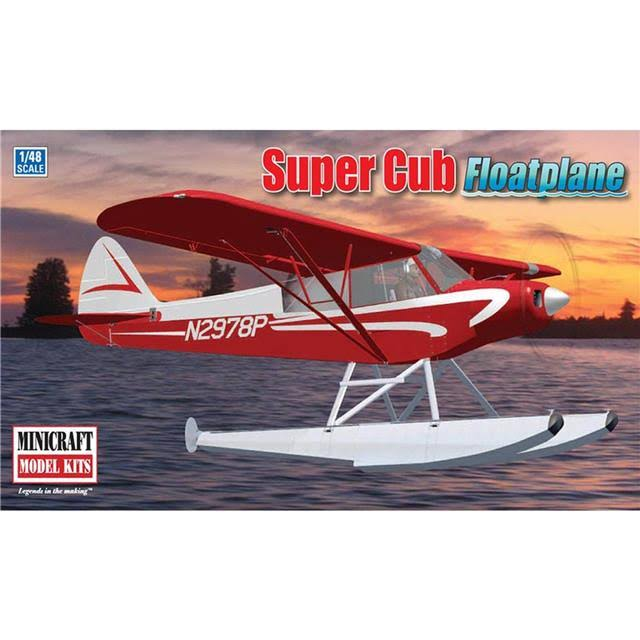 Minicraft 11663 Super Cub Floatplane - 1/48 Scale