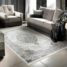 details zu wohnzimmer teppich modernes design kurzflor muster unakite 2200 neu