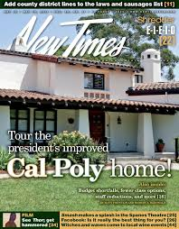 Cal Poly Baker Floor Plan by Tribulations And Renovations News San Luis Obispo New Times
