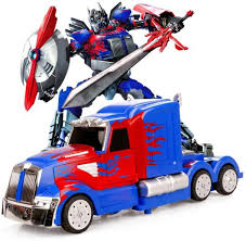PATHE Transformers RC Truck Optimus Prime Remote Control ...