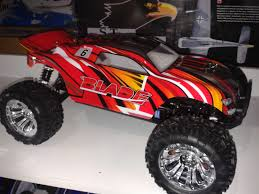 River Hobby 1/10 Blade Red 4wd Stadium Truck, Supercheap Hobbies