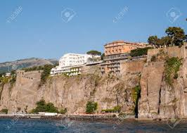100 Houses In Sorrento View Of Houses And Hotels On The Cliffs In Gulf Of