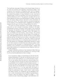 Joseph Kosuth One And Three Chairs Pdf by Pdf Of Article Published By J Venture