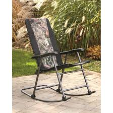 Alps Mountaineering Camp Chair by Guide Gear Oversized Rocking Camp Chair 500 Lb Capacity Mossy