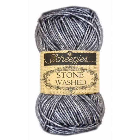 Scheepjes Stone Washed Yarn - 802 Smokey Quartz, 50g