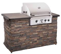 Built in gas BBQ grill by American Outdoor Grills for outdoor