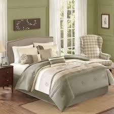Bed Skirts Queen Walmart by Better Homes And Gardens Jelissa 7 Piece Bedding Comforter Set