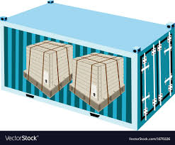 100 Steel Shipping Crates Boxes With Strapping In Container
