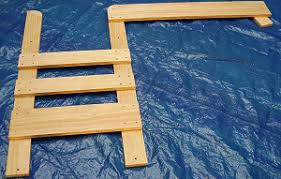 Free Plans For Building A Bunk Bed by Free Bunk Bed Plans Bunk Ends And Ladder Construction