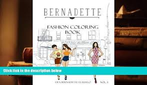 Download PDF BERNADETTE Fashion Coloring Book Vol3 Street Wear Fashionable