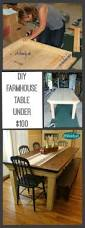 Dining Room Chairs Under 100 by Best 25 Modern Farmhouse Table Ideas On Pinterest Dining Room