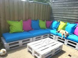Pallet Sofa Cushions And Outdoor For Couch Patio Sectional