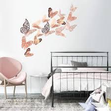 gold lebendige flash wandaufkleber für zuhause baby room