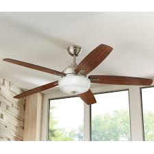 Wicker Ceiling Fans Home Depot by Home Decorators Collection 60 In Sudler Ridge Led Ceiling Fan