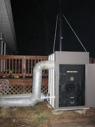i built a forced air outdoor stove arboristsite com