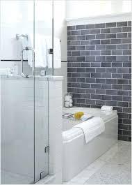white subway tile grey grout bathroom sportactualite info