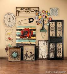 Brown Metal Wall Decor Design Art Hobby Lobby Web Gallery Home Flower
