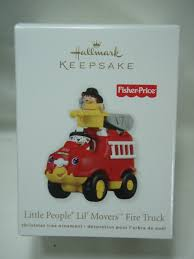 2011 Hallmark Keepsake Ornament Little People Lil Movers Fire ... Amazoncom Hallmark Keepsake 2017 Fire Brigade 1979 Ford F700 Personalized Truck On Badge Ornament Occupations Lightup Led Engine Free Customization Youtube 237 Best Christmas Tree Ideas Images On Pinterest Merry Fireman Hat Ornament Refighter Truck Aquarium Decoration 94x35x43 Kids Dumptruck 1929 Chevrolet Collectors 2014 1971 Gmc Home Old World Glass Blown