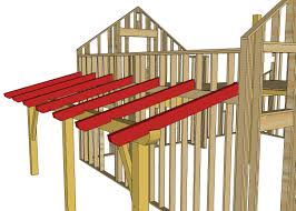 Slant Roof Shed Plans Free by Hand Building A Timberframe Shed Deck Roof Ana White Woodworking